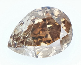 0.18 cts  fancy Natural Diamond , Unique Shaped Diamond