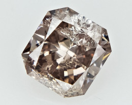 0.35 cts  , Brown Natural Diamond , Diamond For Jewelry