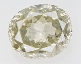 0.26 cts  , Oval brilliant cut Diamond , fancy Colored Diamond