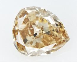 0.21 cts Old Pear brilliant Cut diamond , natural Cut Diamond