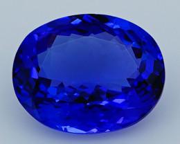 3.92 CT D Block Rare Find Natural Blue Tanzanite   T1-5