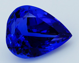 3.85 CT D Block Rare Find Natural Blue Tanzanite   T1-8