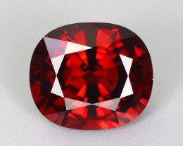 6.460 CT SPINEL ORAGISH RED 100% CLEAN NATURAL UNHEATED BURMSES