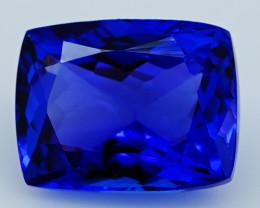 4.06 CT Mater Piece D Block Rare Natural Blue Tanzanite   T1-10