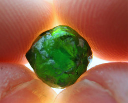 4.68ct Natural Vivid Green Demantoid Garnet Rough