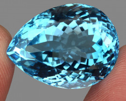 42.59 ct. Earth Mined Top Quality Blue Natural Topaz Brazil