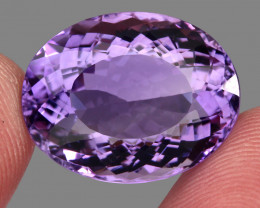 31.42 Ct. Top Quality Rich Purple Natural Amethyst Uruguay Unheated