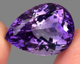 33.24 Ct. Top Quality Rich Purple Natural Amethyst Uruguay Unheated