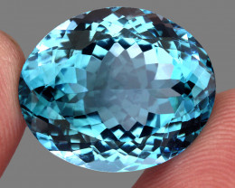 28.30 ct. 100% Natural Earth Mined Top Quality Blue Topaz Brazil