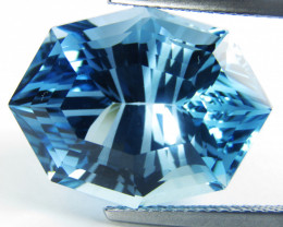 22.40Cts Excellent Natural Baby Swiss Blue Topaz Marquise Custom  Cut Loose
