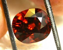 6.87  Carat Fiery Orange Spessartite Garnet - Gorgeous