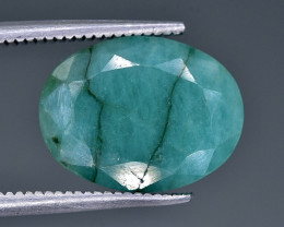 4.81 Crt Emerald Faceted Gemstone (Rk-8)