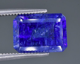 4.46 Crt Tanzanite Faceted Gemstone (Rk-8)