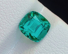 1.40 Carats  lagoon blue colour Tourmaline Gemstone From Afghanistan