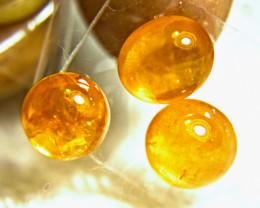14.99 Ct. Fiery Orange Spessartite Garnet Cabochons - Gorgeous