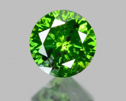 *NoReserve*Diamond 0.08 Cts Rare Green Color Natural