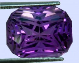 ~CUSTOM CUT~ 16.37 Cts Natural Purple Amethyst Fancy  Bolivia