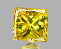 *NoReserve*Diamond 0.04 Cts Rare Yellow Color Natural VS Clarity