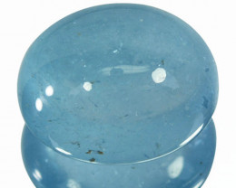 14.35 Cts Natural Aquamarine Beautiful Blue Cabochon Brazil