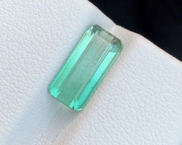 2.40 Carats Blue colour Tourmaline Gemstone From Afghanistan