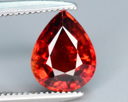 1.70 ct Natural Tremendous Color Spessartite Garnet ~K