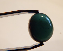 4.6 carats Indicolite Tourmaline cabochon AA quality