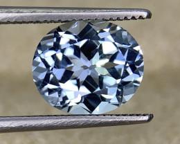 NR 2.80 Cts Natural Blue Aquamarine Gemstone