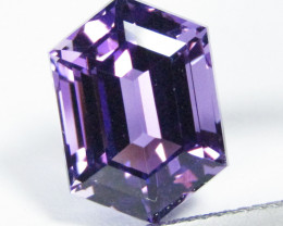 6.10Cts Excellent Quality Natural Amethyst Fancy Cut Loose Gem REF VIDEO