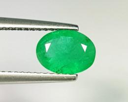 1.02 ct  Top Grade  Amazing Oval Cut Natural Emerald