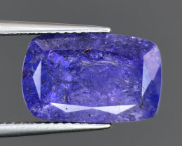~No Reserve~7.28 ct Nice color Included Yet Attractive Big Size Tanzanite