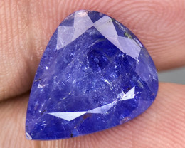 ~No Reserve~10.2 ct Nice color Included Yet Attractive Big Size Tanzanite