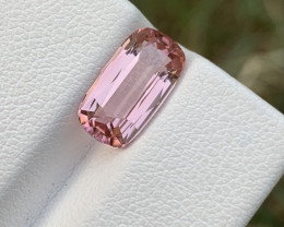 3.35 carats Loupe clean Baby pink Tourmaline  gemstone from Afghanistan