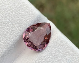 1.60 carats light pinkish color Tourmaline Gemstone From Afghanistan