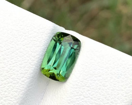 2.20 carats Bluish Green color Tourmaline Gemstone From Afghanistan