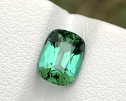 1.85carats Greenish blue color Tourmaline Gemstone From Afghanistan