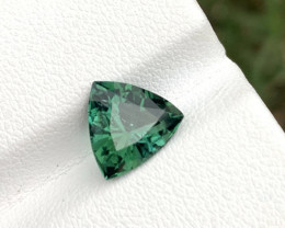 1.80 carats Trillion Cut lagoon tourmaline gemstone from Afghanistan
