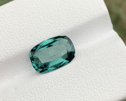 2.25 carats Indicolite blue color Tourmaline Gemstone From Afghanistan