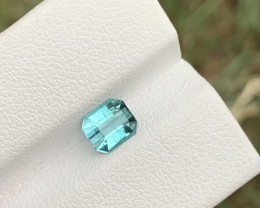 1.23 carats Blue paraiba color Tourmaline Gemstone From Afghanistan