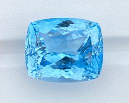 66.86 Cts Natural  Blue Topaz, Super Perfect Cut Gemstone