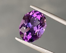 Natural Amethyst 3.49 Cts Excellent Gemstone