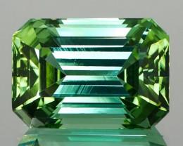 21.47Ct Meticulously Cut Mint Green Tourmaline
