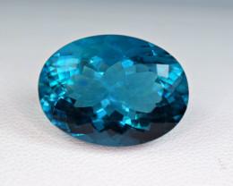 Flawless 22.42 Carat Top Fluorite Unusual Rare Color Perfect Cut Gemstone@