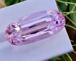39.80 Carat One Of best Fancy Cut Kunzite Gemstone