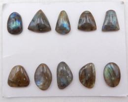 D1367 - 107.5cts Labradorite Cabochons, healing Stone designer making