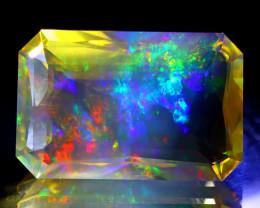 ContraLuz 32.89Ct Octagon Cut Mexican Very Rare Species Opal B2813