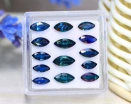 Sapphire 4.48Ct VS Marquise Cut Natural Unheated Sapphire Lot B2822