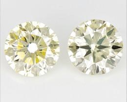 0.38 cts  Round Brilliant Cut Diamonds