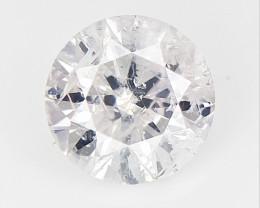 0.31 cts Rarest V  very Light Pink colored Diamond , Natural Diamond for Je