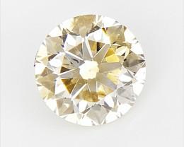 0.33 cts  Rarest Double Colored Diamond