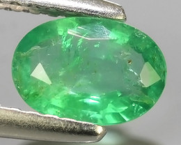 0.60 CTS IMPRESSIVE OVAL BEST COLLECTION OF NATURAL COLOMBIAN EMERALD